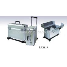 chariot de bagages en aluminium solide & portable en gros de l'usine de la Chine