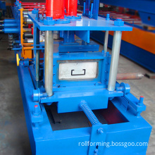 Top grade steel sheet u profile guide rail roll forming machine manufacture