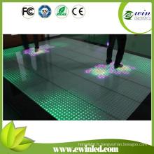 Les carrelages interactifs de plancher de danse de LED sont venus avec la pièce de boule