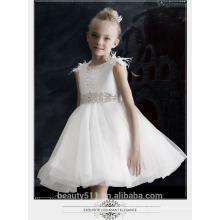 Lovely Lace Tulle Ivory Flower Girl Dress For Wedding baby girl tutu gown ED700