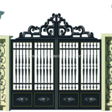 Luxury Villa Courtyard Aluminum Gate