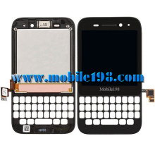 Pantalla LCD y pantalla táctil con marco para Blackberry Q5