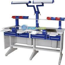 dental lab equipments (Model:Workstation (double) EM-LT2) (CE approved)