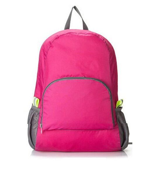 Pink Foldable Travel Bag
