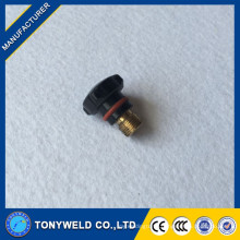 Wholesale 57y04 tig torch Short Back Cap 57y04 welding spare parts
