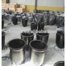 Resistencia abrasiva de alta temperatura Crisol de cerámica del carburo de silicio SIC