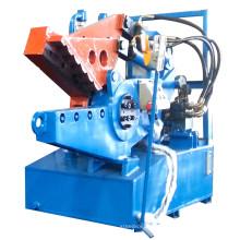 Máquina de corte de cocodrilo de tubo de acero de aluminio