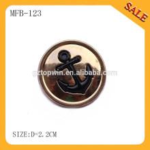 MFB123 Botão de pressão high-end high-end da metal da mola da imprensa da venda quente para a roupa