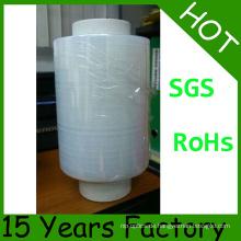 SGS Zertifikat 18 Jahre Fabrik LLDPE Stretchfolie Jumbo Rolle