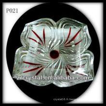 Magnifique récipient en cristal P021