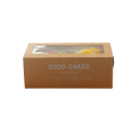 Typ szuflady Kraft Paper Take Out Cake Box