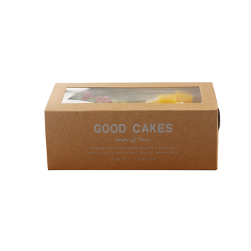 Jenis Laci Kraft Paper Take Out Cake Box