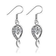 Brincos de prata quente acessível do casamento 2014