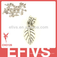 2013 New Fashion leaf charms 925 silver pendant charms