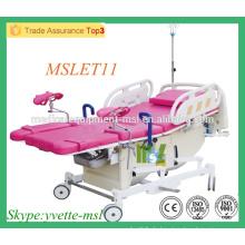 MSLET11M Bequeme elektrische Geburtshilfe Krankenhausbett Elektrischer Operationstisch