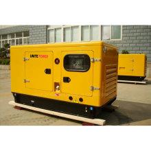 Vereinigen Sie Schalldämpfungs-Dieselgenerator der Macht-Faw-20kw mit ATS