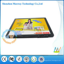 Slim type led digital photo frame 12inch with video input