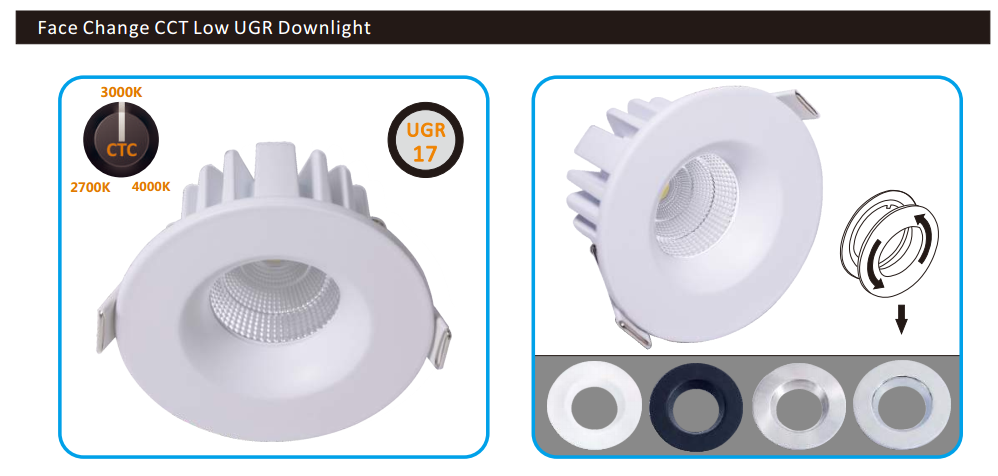 smart led downlight