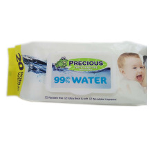 99% Water Wipes Lid Natural Baby Wipes