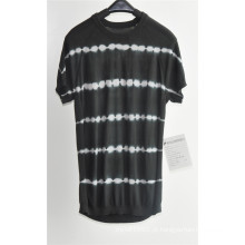 2016new moda 100% algodão manga curta homens camisola
