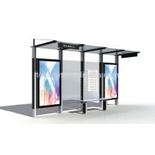 THC-33 refugio de autobús de marco de acero al aire libre