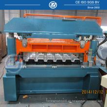 Panel de suelo de metal que forma la máquina con rodillos de prensado