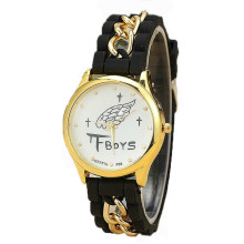 Quartz Geneva Women Watch(yukaihua)