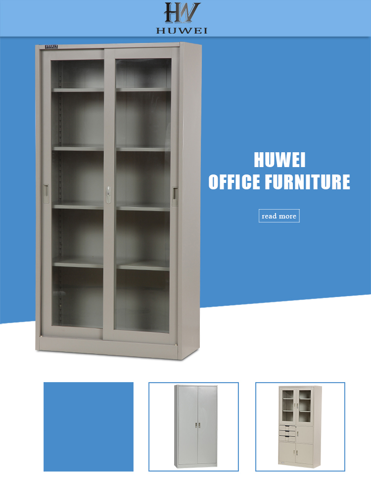 sliding door office storage cupboard
