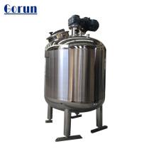 Tanque de almacenamiento de agua potable / bebidas de grado alimenticio de acero inoxidable.