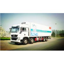 8X4 lecteur Sinotruk HOWO réfrigérateur camion / congélateur camion / camion de réfrigération / refroidisseur camion / camion réfrigéré / camion de refroidissement