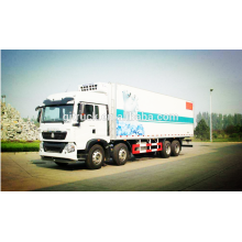 8X4 drive Sinotruk HOWO Refrigerator Truck/ freezer truck /refrigeration truck/chiller truck/ refrigerated truck/ cooling truck