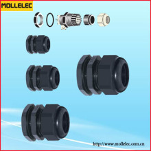Plastic Fixed Cable Gland M-Lp Type Long Thread Section Plane