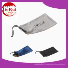 Pochette de lunettes microfibres en ligne pour le paquet
