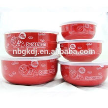 hot selling enamel finger bowl steel finger bowl