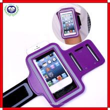 Deportes corriendo jogging brazalete brazalete banda brazalete titular de la cubierta del caso para el teléfono móvil