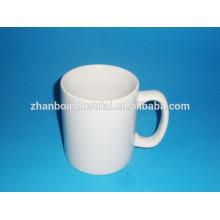 Hot Sale Straight Body Ceramic Round Decal Coffee Mug