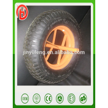 pu rubber wheel 3.50-8 4.00-8 Tubeless wheels