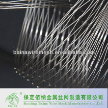 Mesh netting/ss316 stainless steel wire rope mesh