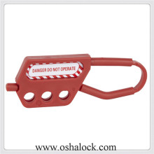 Nylon Lockout Hasp with Three-holes