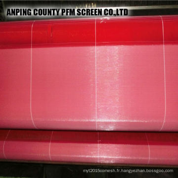 Polyester chaud chinois formant le grillage de tissu pour la fabrication de papier
