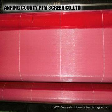 Poliéster quente chinês que forma a rede de arame da tela para a factura de papel