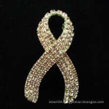 wholesale hot sale fashion bride letter crystal brooch for wedding