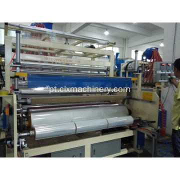 Embalagem Stretch Film Plastic Wrap Machine Making Film