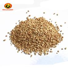 Gránulos abrasivos de mazorca de maíz para pulir