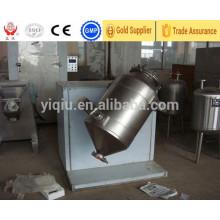 Mezclador de movimiento tridimensional de acero inoxidable