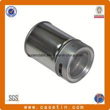 Caixa de lata de especiarias classificada com metais personalizados com furo e janela