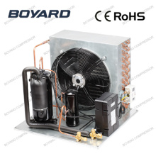 r22 hermetic refrigeration compressor condensing unit for cold room storage