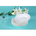 Haonai bulk and cheap restaurant bone china plate