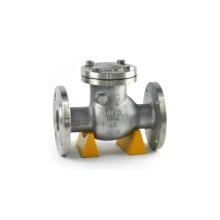 Stadtwasserversorgung Rohrleitung verwenden Wafer-Typ Einscheibenschwenkkippscheibe Stahlwasserpumpe Rückschlagventil