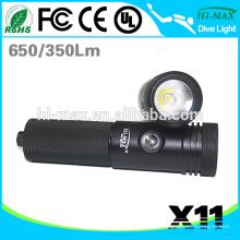 Hi-max X11 XM-L U2 LED Tauchen explosionsgeschützte LED-Taschenlampe